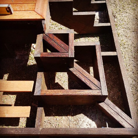 Stair frame